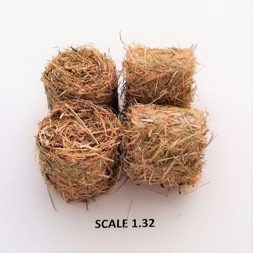 ROUND HAY BALES - Scale 1:32 -   Pack of 4