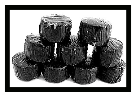Black Wrap Round Bales - Pack of 10